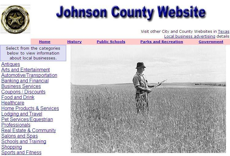 Johnson County Website - CountyWebsite.com