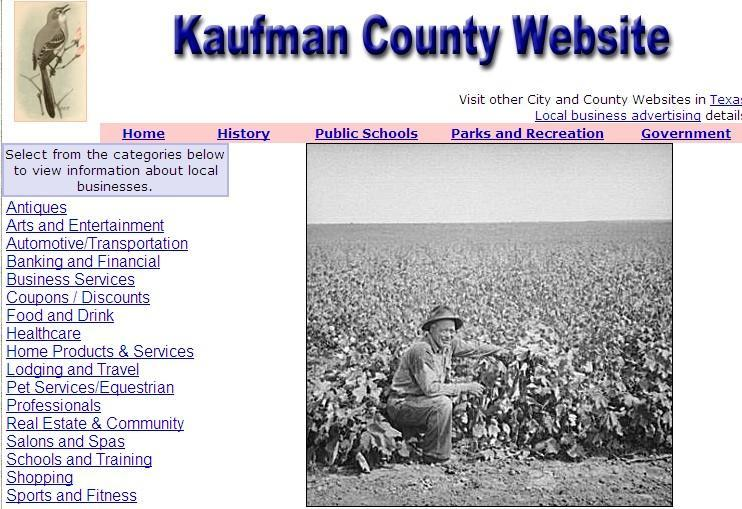 Kaufman County Website - CountyWebsite.com