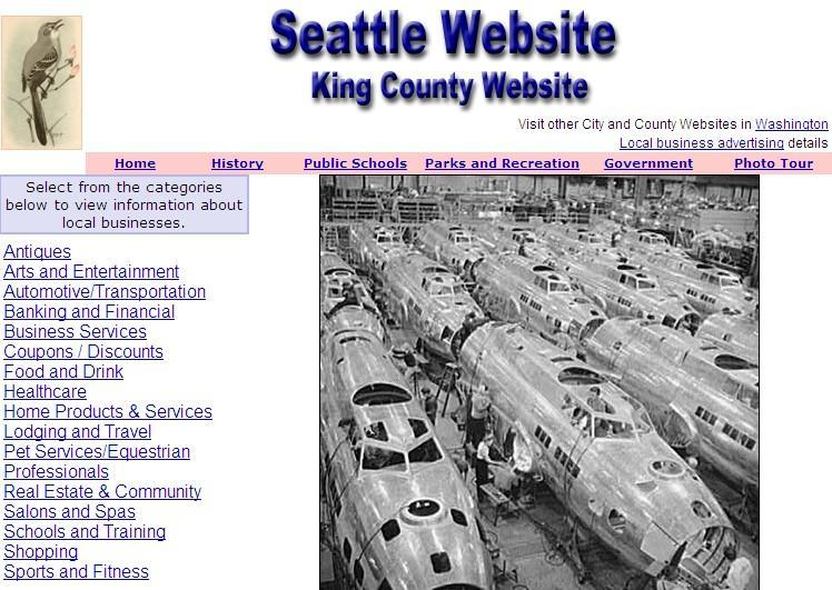 King County and Seattle Website - CountyWebsite.com