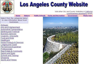 Los Angeles Website - CountyWebsite.com