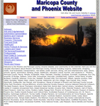Maricopa and Pheonix Website - CountyWebsite.com