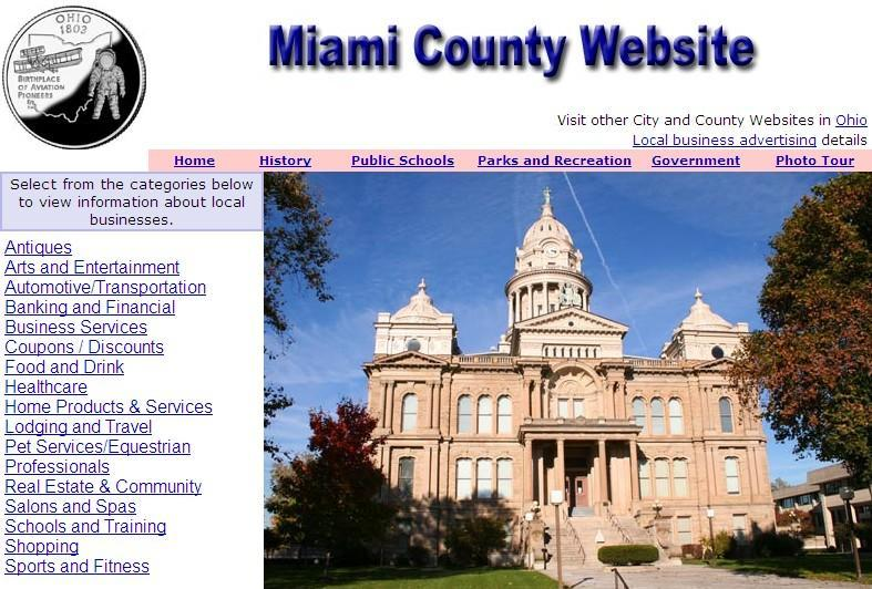 Miami County Website - CountyWebsite.com