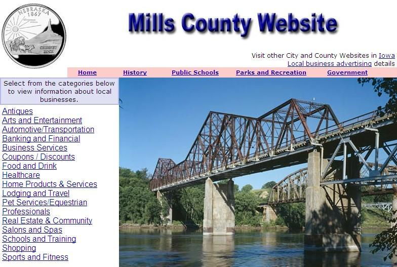 Mills County Website - CountyWebsite.com