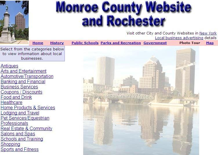 Monroe County and Rochester Website - CountyWebsite.com