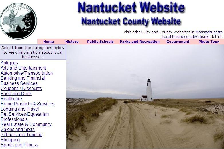 Nantucket County Website - CountyWebsite.com