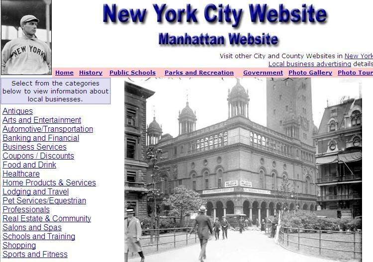Manhattan and New York City Website - CountyWebsite.com