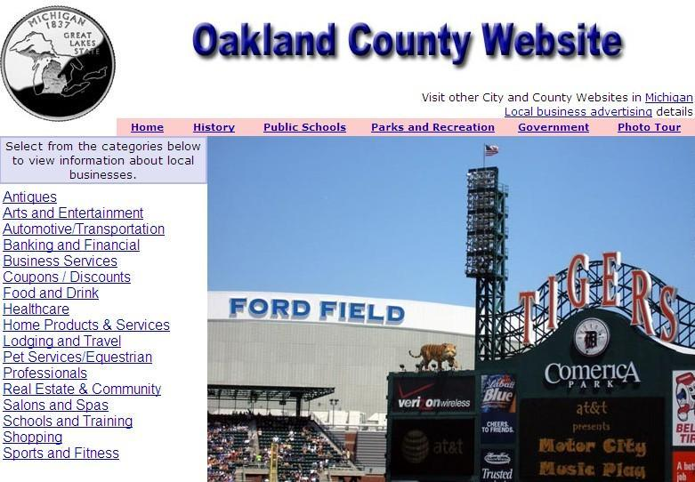 Oakland County Website - CountyWebsite.com