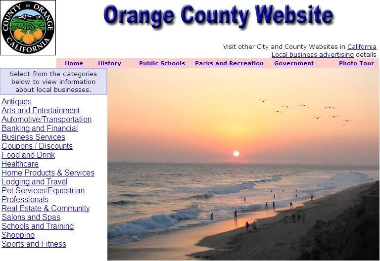 Orange County Website - CountyWebsite.com