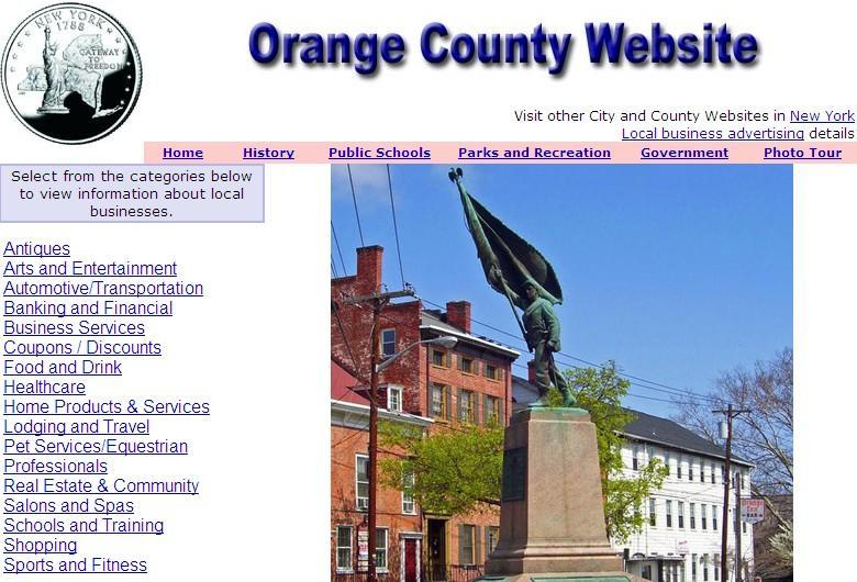 Orange County, New York Website - CountyWebsite.com