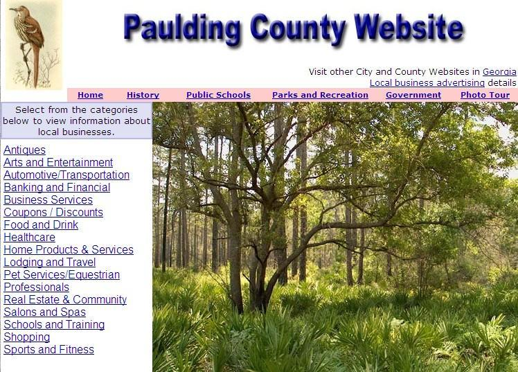 Paulding County Website - CountyWebsite.com