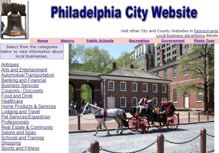 Philadelphia Website - CountyWebsite.com