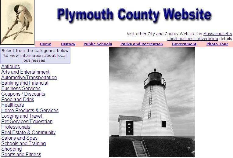 Plymouth County Website - CountyWebsite.com
