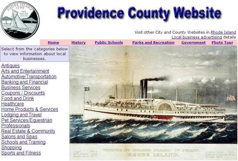 Providence County Website - CountyWebsite.com