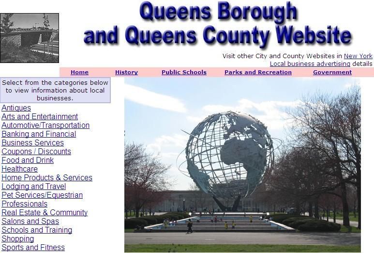 Queens Website - CountyWebsite.com