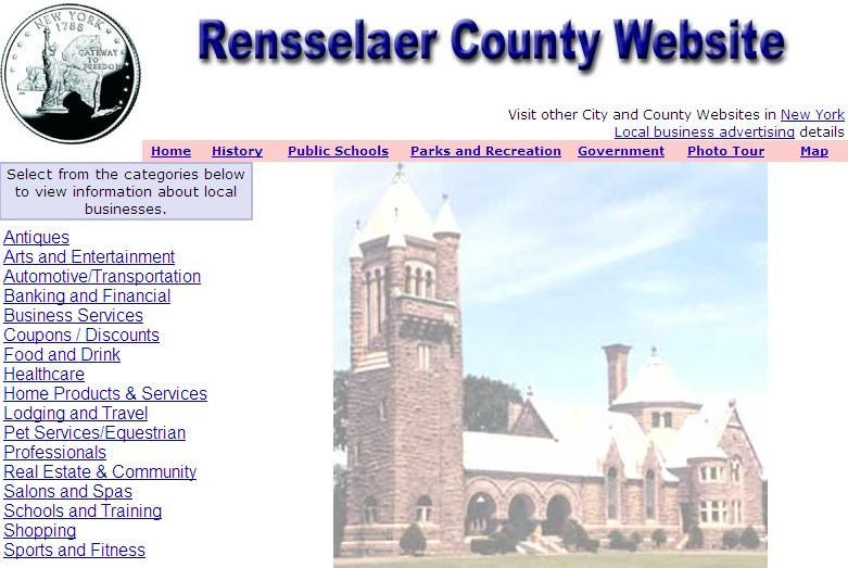 Rensselaer County Website - CountyWebsite.com