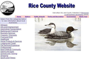 Rice County Website - CountyWebsite.com