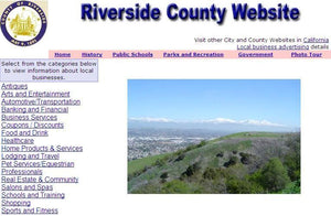 Riverside County - CountyWebsite.com