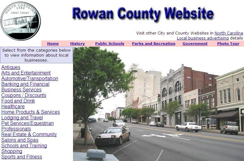 Rowan County Website - CountyWebsite.com
