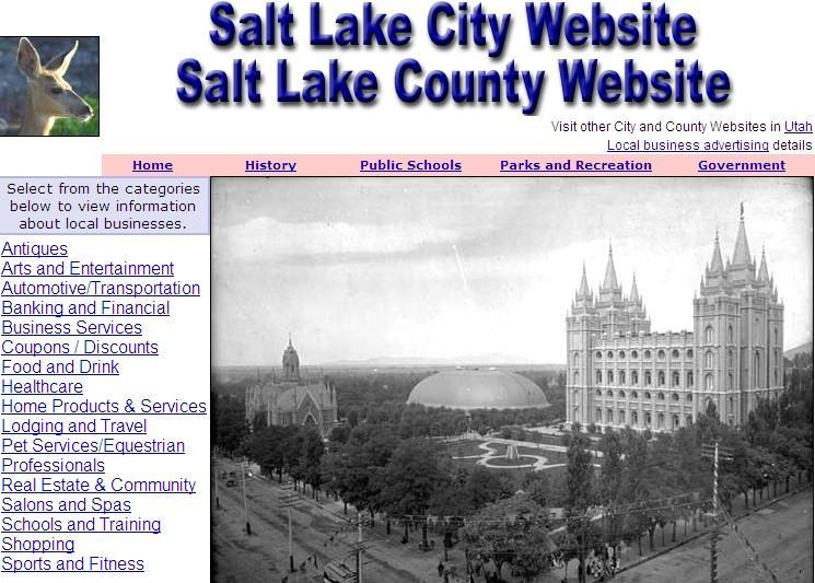 Salt Lake City Website - CountyWebsite.com