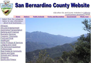 San Bernandino County Website - CountyWebsite.com