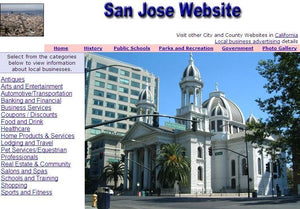 San Jose Website - CountyWebsite.com