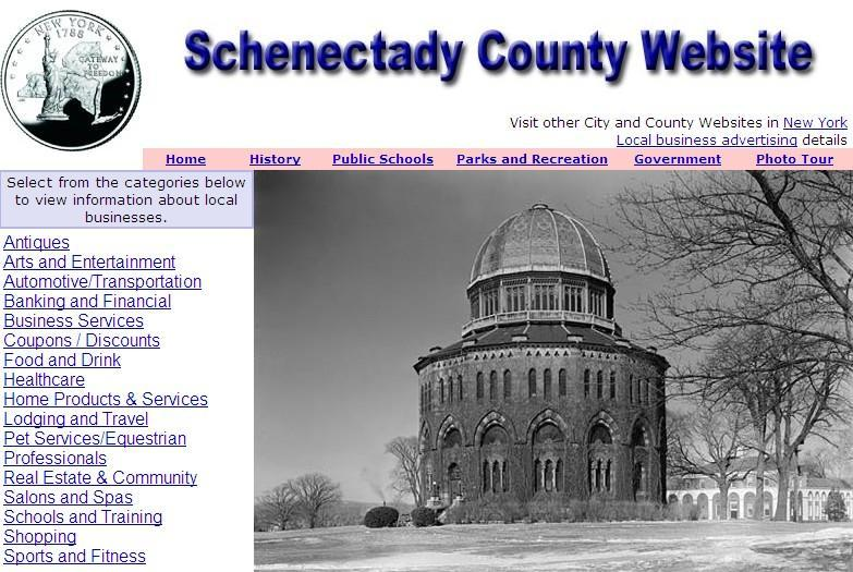 Schenectady County Website - CountyWebsite.com