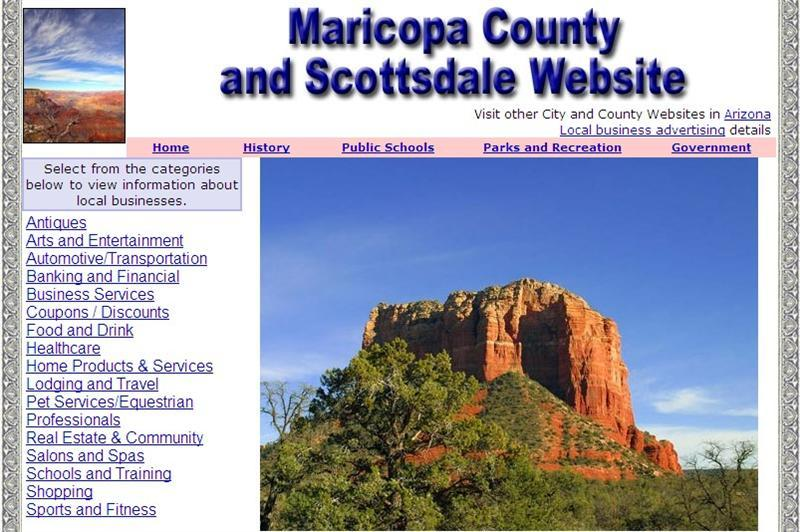 Scottsdale Website - CountyWebsite.com