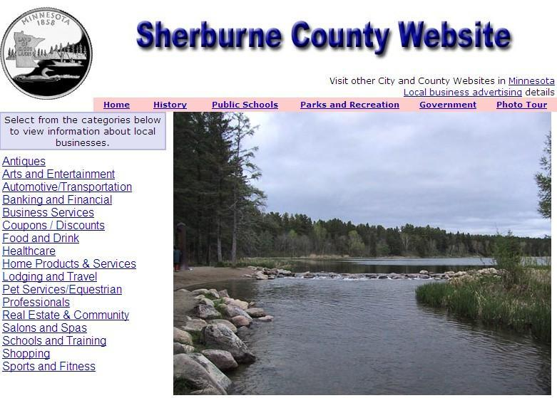 Sherburne County Website - CountyWebsite.com