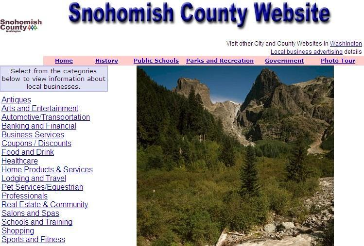 Snohomish County Website - CountyWebsite.com