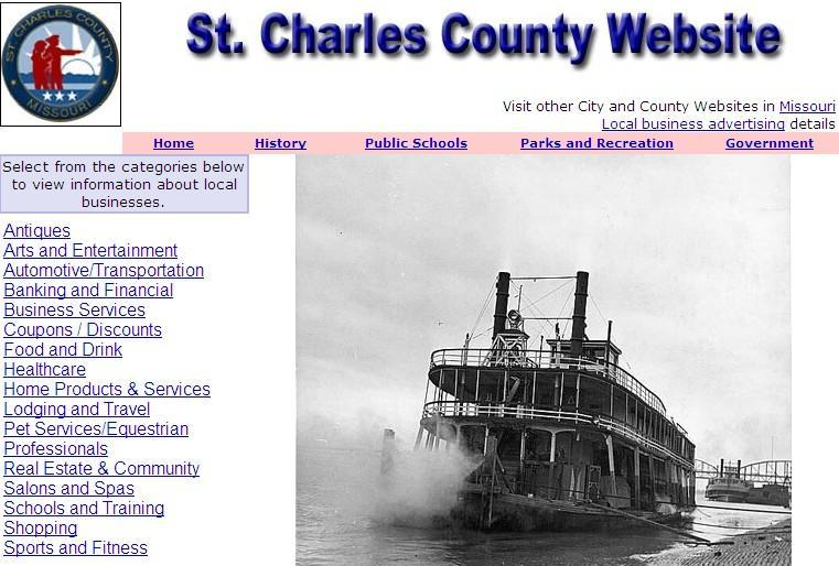 St. Charles County Website - CountyWebsite.com