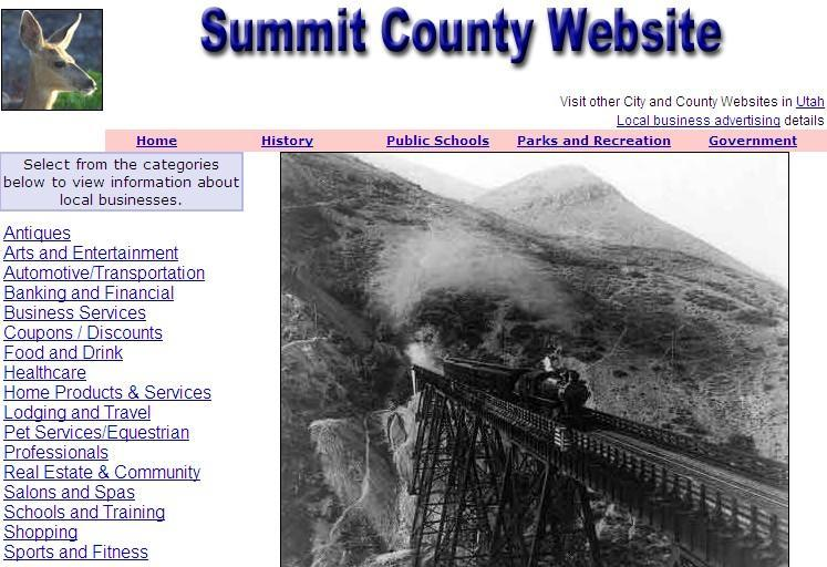 Summit County Website - CountyWebsite.com