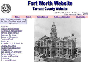 Tarrant County and Fort Worth Website - CountyWebsite.com