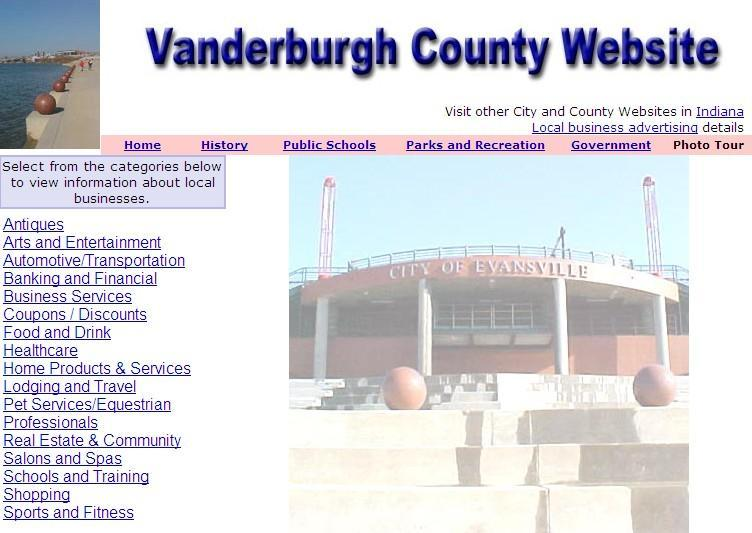 Vanderburgh County Website - CountyWebsite.com