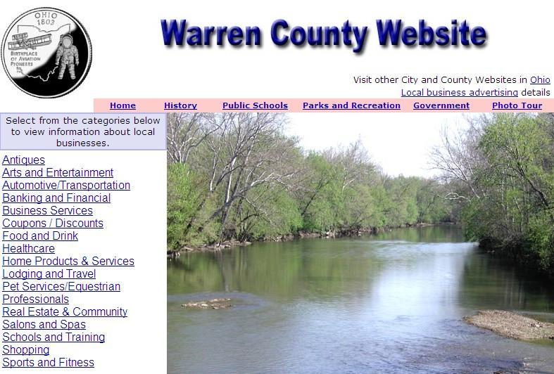 Warren County, Ohio Website - CountyWebsite.com