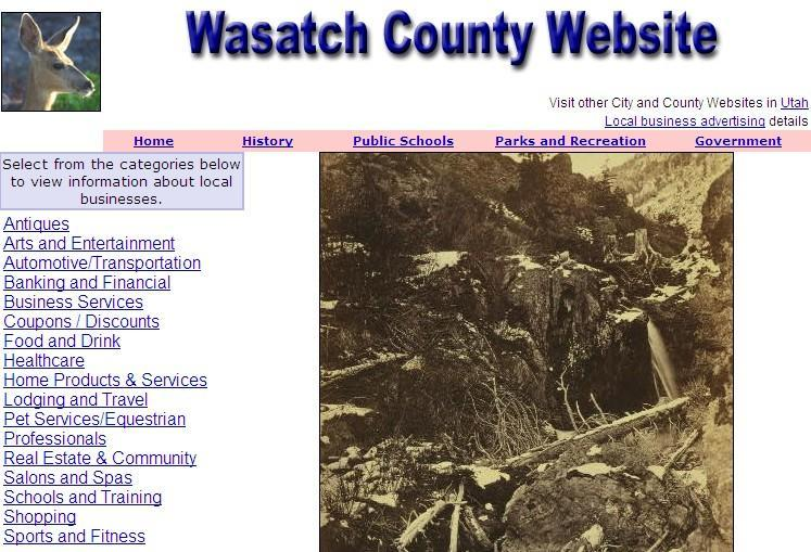 Wasatch County Website - CountyWebsite.com