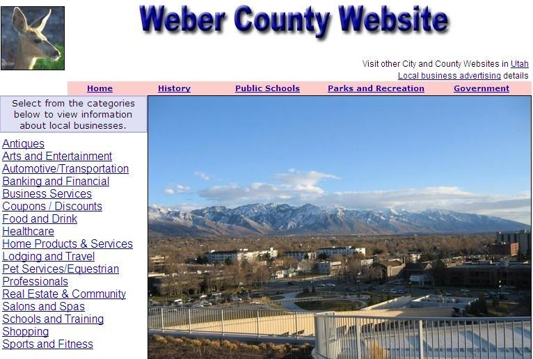 Weber County Website - CountyWebsite.com