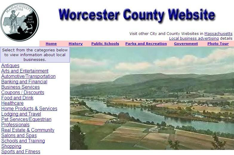 Worcester County, Massachusetts Website - CountyWebsite.com