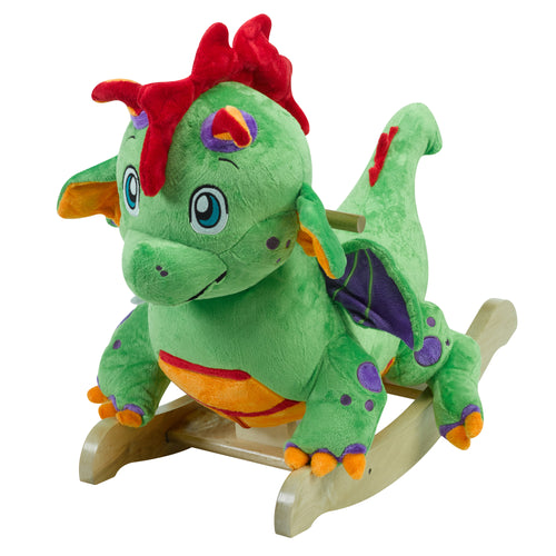 Poof the Green Dragon Rocker