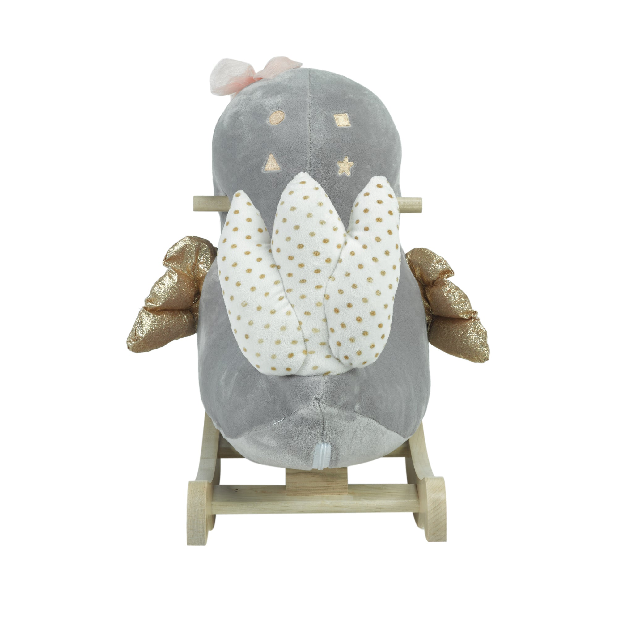 Skye the Grey Bird Rocker