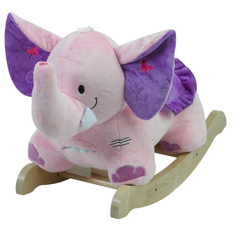Owlita the Violet Owl Chair Rocker