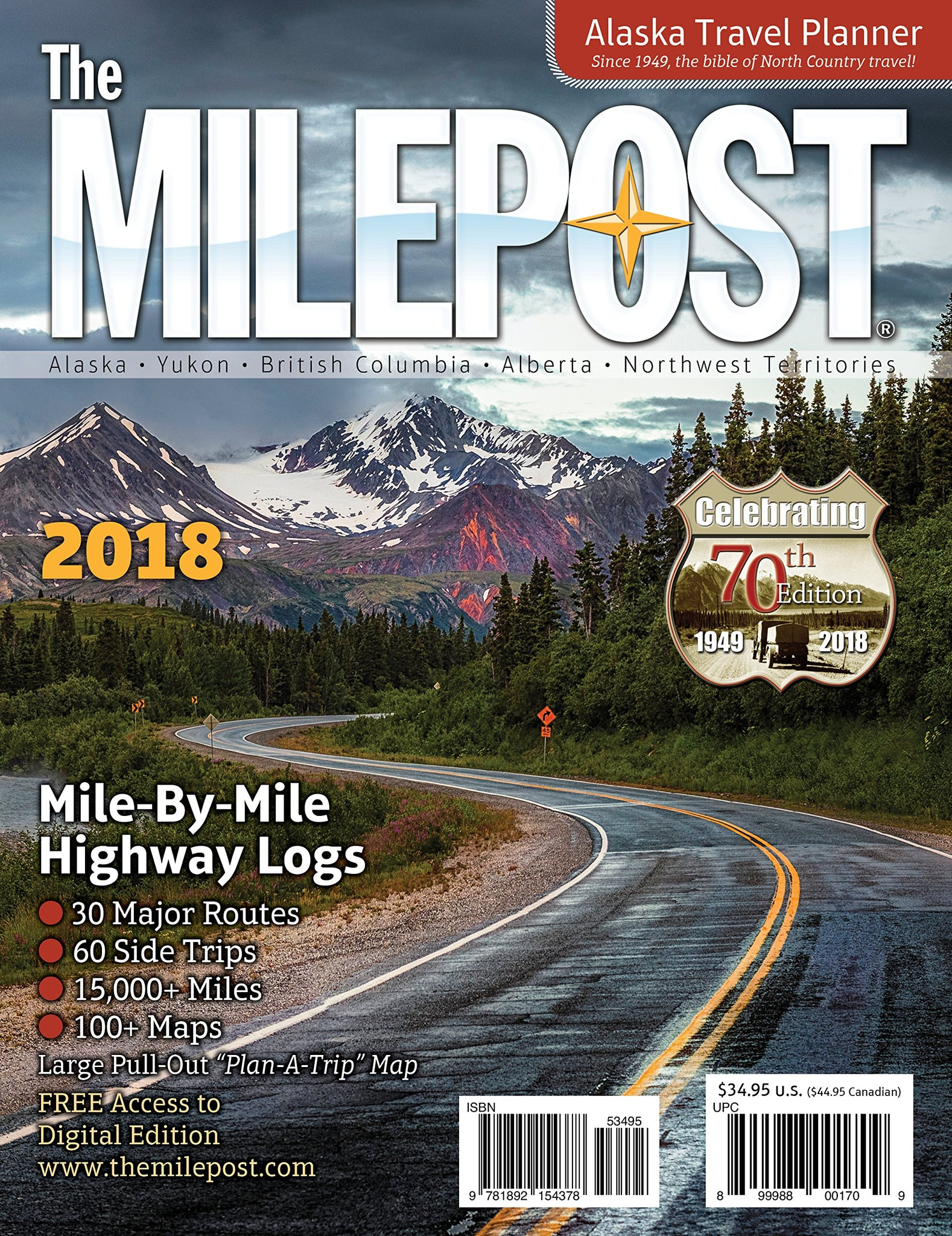 Travel Alaska with The Milepost - the Ultimate Alaskan Guidebook