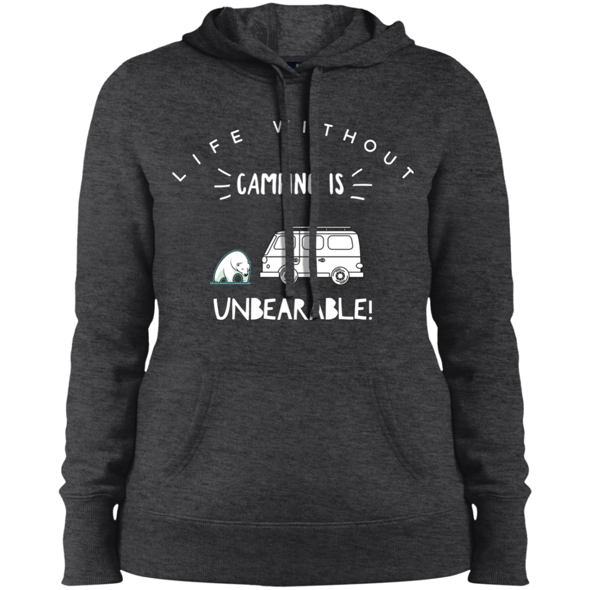 Women's Heavyweight Hoodie - Unbearable