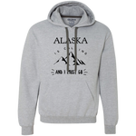 Men's Heavyweight Hoodie - Alaska Is Calling