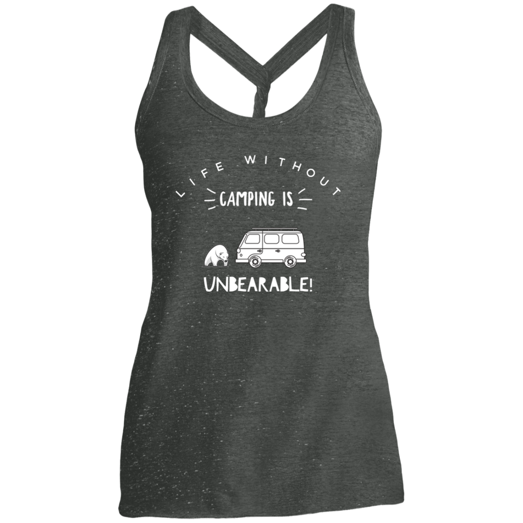 Women's Cosmic Twist Back Tank - Unbearable