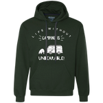 Men's Heavyweight Hoodie - Unbearable