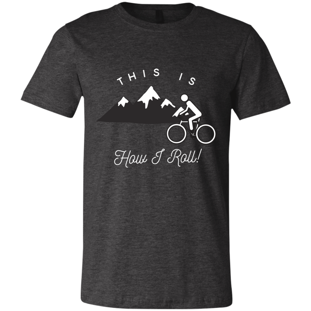Men's Slim Fit T-Shirt - This Is How I Roll - Bicycle