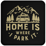 Coaster - Home Is Where I Park It- Gold Graphic