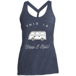 Women's Cosmic Twist Back Tank - This Is How I Roll