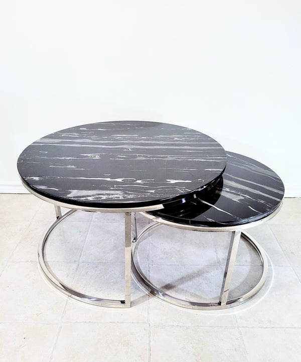 Black Coventry Nesting Tables