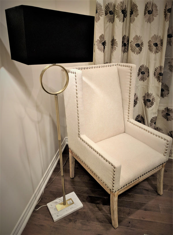 High WingBack Alonso Accent Chair